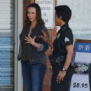 Jennifer Love Hewitt on the set of '9-1-1' in Los Angeles - 454 x 729