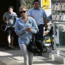 Ashley Tisdale - Leaving Equinox Gym, 2010-01-11