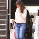 Jennifer Garner – Seen Arriving at her office in Brentwood