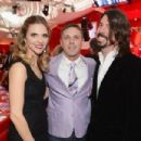 Dave and Jordyn Grohl attend the 21st Annual Elton John Aids Foundation on February 24, 2013