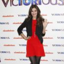 Victoria Justice attends a photocall for her new album 'Victorious' at the ME Hotel in Madrid 02/23/12