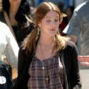 "Drew Barrymore Arrives On The Set Of ""He's Just Not That Into You"" In L.A Sept.11 2007"