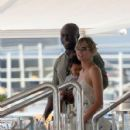 Heidi Klum and Seal on a Yacht