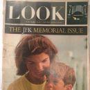 Jacqueline Kennedy - Look Magazine Cover [United States] (17 November 1964)