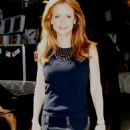 Kelly Preston - Leaving ABC Studios After Taping