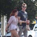 Ariel Winter and Levi Meaden out in Studio City - 454 x 681