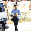 Cara Santana -Seen at Pumpkin Patch In Los Angeles - 454 x 565
