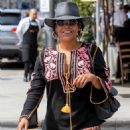 Nia Long – Out for lunch at Il Pastaio in Beverly Hills