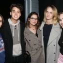 Cara Delevingne and Ashley Benson – Backstage at the musical 'Jagged Little Pill' in NY
