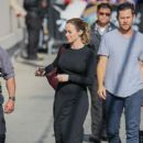 Emily Blunt is seen arriving at 'Jimmy Kimmel: Live' - 400 x 600