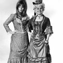 Edina Ronay as Mary Jane Kelly and Barbara Windsor as Dark Annie Champan in A Study in Terror (1965)