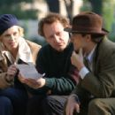 Charlize Theron as Gilda Besse, Filmmaker John Duigan, and Stuart Townsend as Guy Malyon