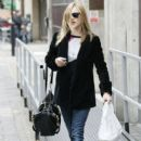 Fearne Cotton: leaves the BBC Radio One studios