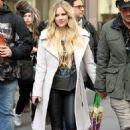 Avril Lavigne and Phillip Sarofim – Leaving SiriusXM Radio in New York City