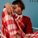 Jourdan Dunn - Elle Magazine Pictorial [United Kingdom] (April 2016) - 454 x 615