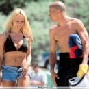 Kelly Slater and Pamela Anderson