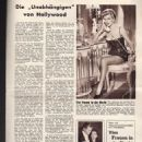 One Step to Eternity - Mein Film Magazine Pictorial [Austria] (1 June 1956)