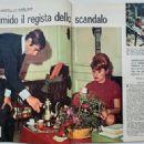Roger Vadim and Annette Vadim - La Settimana Incom Magazine Pictorial [Italy] (1 December 1960) - 454 x 323