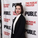 Anne Hathaway The Public Theaters Josephine and I Opening Night In Nyc