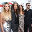 Steven Tyler at Janie's Fund Gala & GRAMMY Viewing Party at Red Studios on January 28, 2018 in Los Angeles, California