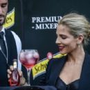 Elsa Pataky Presents New Hibiscus By Schweppes In Madrid