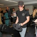 Cody Simpson is seen at LAX on April 6, 2016 - 400 x 600