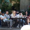 Sophie Turner and Joe Jonas – Out for some lunch in Barcelona - 454 x 294
