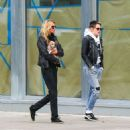 Kristen Stewart and Stella Maxwell out in New York City - 454 x 489