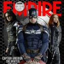 Sebastian Stan, Chris Evans - Empire Magazine Cover [United Kingdom] (February 2014)