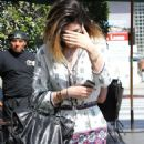 Kylie Jenner Hanging Out With Friends In West Hollywood