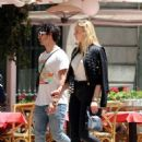 Sophie Turner and Joe Jonas – Out for some lunch in Barcelona - 454 x 600