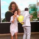 Halle Berry on Despierta America in New York - 454 x 594