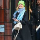 Elle Fanning – Leaving her hotel in NYC