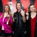 Duff McKagan and Susan Holmes arrive at the premiere of Epix's