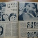 France Nuyen - Zondagsvriend Magazine Pictorial [Netherlands] (26 February 1959) - 454 x 324