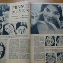 France Nuyen - Zondagsvriend Magazine Pictorial [Netherlands] (26 February 1959)