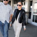 Nicole Richie At Lax Airport In Los Angeles