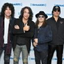 Kiss attends SiriusXM's Town Hall with KISS on October 29, 2018 in New York City - 454 x 306