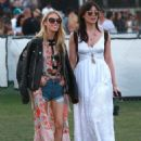 Daisy Lowe Coachella Valley Music and Arts Festival Day 3 In Indio