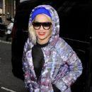Rita Ora outside BBC Radio Two in London, UK November 19. 2012 - 431 x 594