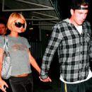 Paris Hilton - With Doug Reinhardt In West Hollywood, 20. 3. 2009.