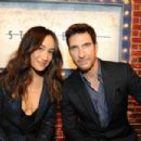 Maggie Q and Dylan McDermott - 454 x 302