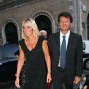 Mauro Floriani and Alessandra Mussolini and Mauro Floriani