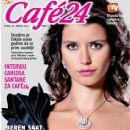 Beren Saat - Cafe 24 Magazine Cover [Croatia] (26 July 2013)