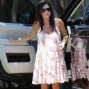 Rachel Bilson In Mini Dressa Out In La