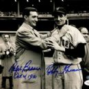 Ralph Branca With Bobby Thomson