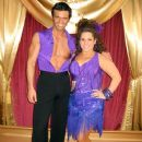 Tony Dovolani and Marissa Jaret Winokur