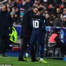 'If you play like that don't complain if you take some knocks': Neymar a huge doubt for Champions League clash with Manchester United as PSG confirm similar foot injury that nearly ruled him out of World Cup... but Strasbourg show no remorse - 454 x 303