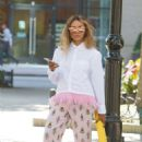 Kat Graham out for lunch in Beverly Hills