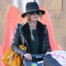Nicky Hilton is spotted pushing her daughter Lily Grace in a stroller in New York City, New York on October 14, 2016 - 431 x 600